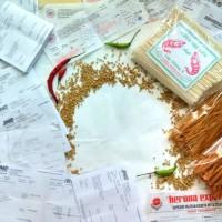 Mie Lidi Mentah   Lidi Lidian Mentah  1000 Bks Penjualan