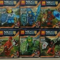 Lele Lego nexo soldiers @ 6 pcs