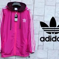 Jaket Adidas Magenta Parasut [sweater/hoodie/jumper]