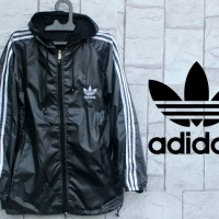 Jaket Adidas Grey List Putih Parasut [sweater/hoodie/jumper]