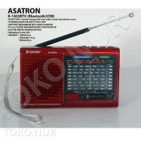 Radio Asatron R1065BTU (Merah) - Bluetooth - Usb Player