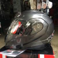 Helm KYT RRX Modular Full Face Fullface Visor Gunmetal Metal