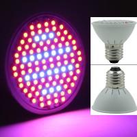 106 LED Grow Light E27 80red 26blue Lampu tanaman hidroponik.