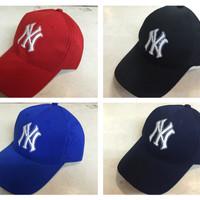 topi baseball newyork NY bordir