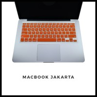 Keyboard Protector Macbook Pro Retina 15 Inch Orange