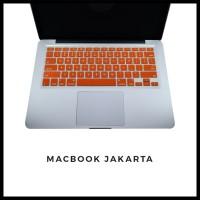 Keyboard Protector Macbook Pro 13 Inch Orange