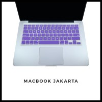 Keyboard Protector Macbook Pro Retina 15 Inch Purple