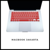 Keyboard Protector Macbook Pro 15 Inch Red