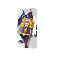 Barcelona FC Logo Wallpaper Photos Case for HTC One M7