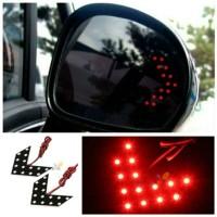 LED Sein Spion Mobil Merah Lampu Led Sign Sen Kaca Spion Tanda Panah