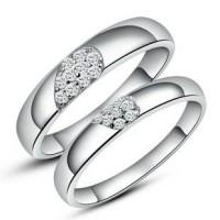 cincin perak sepasang, nikah, kawin, tunangan, couple