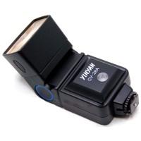Yinyan Flash Kamera Zoom 5600K Untuk DSLR Canon Nikon - CY-28 - Black