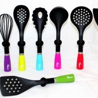 OX-043 Oxone Rainbow 8pcs Kitchen Tools