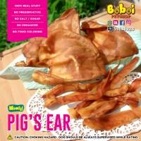 Kuping Babi Kering / Dehidrated Pig Ear - Snack Anjing