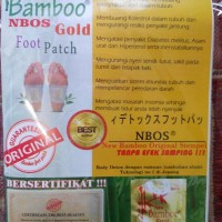 Koyo Kaki New Bamboo NBOS Gold || Khasiat Lebih Baik dari Kinoki