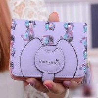 Short Kitten Wallet - Namy Shop