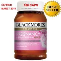 BLACKMORES PREGNANCY & BREAST FEEDING GOLD 180 CAPS- ORI)