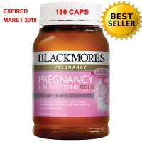 BLACKMORES PREGNANCY & BREAST FEEDING GOLD 180 CAPS (ORI