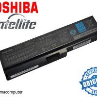 Baterai/Batre/Batery Laptop Toshiba L645 , L745 , C640 - PA-3817U-1BRS Original