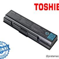 Original Baterai/Batre Laptop TOSHIBA Satellite A200 A205 L200 M200 M205 Series / Equium A200 A210-17I Series / Dynabook