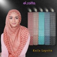 ELZATTA Hijab Kerudung Jilbab Segi Empat Kaila Laprita Asli Terbaru