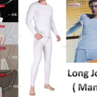 LONG JOHN MAN / PRIA UNISEX / HANGAT / WINTER / BAJU PANJANG /