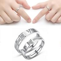 cincin perak, couple, sepasang, nikah, tunangan, kawin