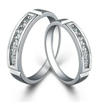 cincin couple,perak,tunangan,kawin,nikah,sepasang