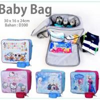 promo termurah baby bag organizer tas perlengkapan bayi motif kartun