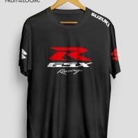 Kaos/tshirt/fruit of the loom/sablon/racing/suzuki/r gsx/custom