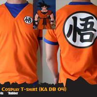 KAOS ANIME DRAGON BALL SON GOKU COSPLAY T-SHIRT (KA DB 04)