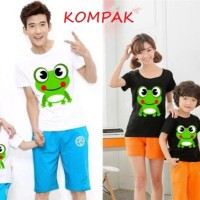 Family Couple Frog