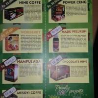 food and drink herbal sehat dan alami/ minuman dan makanan kesehatan