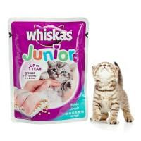 whiskas junior tuna wetfood sachet