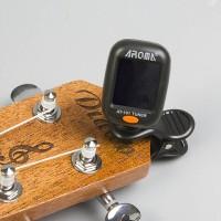 Mini Tuner gitar biola ukulele dll merk aroma import
