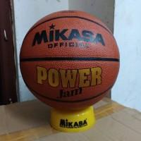 Mikasa Power Jump Gold Bola Basket Size 7