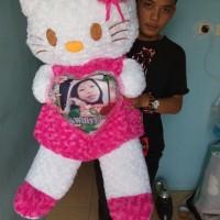 boneka HELLO KITTY jumbo + foto
