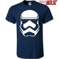 Kaos / T-Shirt - Star Wars : Storm Trooper - NAVY