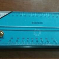 Mistar Jajar Peta 450mm (Parallel Ruler)