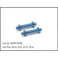 ZXOP-22-BL RC Car Caster Racing 1/8 Buggy WING STAY JOINT BLUE