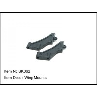 SK062 Rc Car Caster Racing 1/10 buggy WING MOUNTS S10b