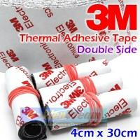 Thermal Adhesive Tape 3M Double Side 9448A Sticker Heatsink Panas Heat