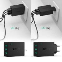 (New) Universal Travel USB Charger iPhone Tablet Xiaomi HTC Sony
