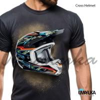T-shirt 3D Umakuka Original - Cross Helmet