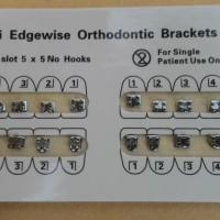 Dental Bracket Fancy/ bracket amplop fancy /behel gigi fancy mini