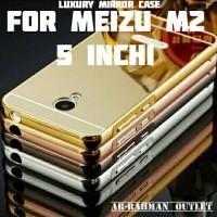 MIRROR BACK CASE COVER METAL BUMPER BACKCASE MEIZU M2 MINI 5 INCH