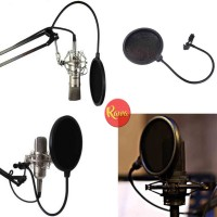 POP FILTER MIC MICROPHONE STUDIO RECORDING RADIO