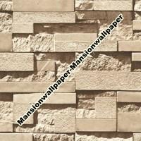 Wallpaper Dinding Batu Bata 3D artistik