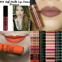 NYX soft matte lip cream 100% original USA NEW Shades