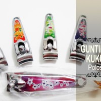 Souvenir Gunting Kuku Polos